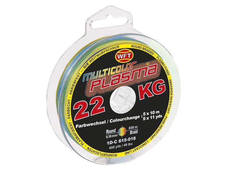 WFT/Plasma Multicolor 300m 27KG 0,22mm