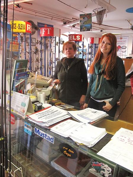 Prodejna rybářských potřeb ADLER - Dobruška